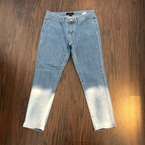 Banana republic jeans cropped legging size 8